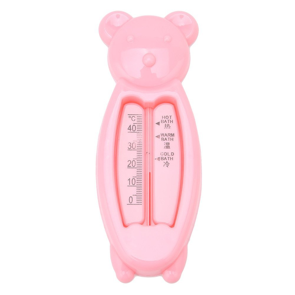 Yingwei Pink Bear meter, the Baby Bath Floating Duck Toy and Bath Tub Thermometer other