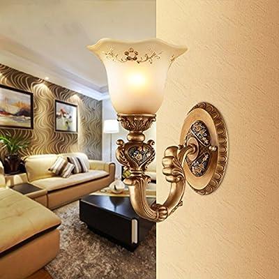 MMYNL Moderne Appliques Murales Vintage E27 Antique Lampe Pour Chambre  Salon Bar Couloir Salle De Bains Cuisine Escalier Intérieur LampesLampe De  Chevet ...