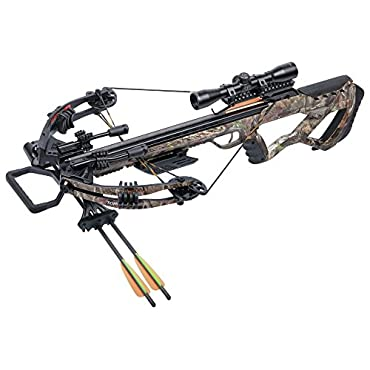 CenterPoint Tormentor Whisper 380 Camo Crossbow Package
