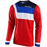 Troy Lee Designs Mens Offroad Motocross Prisma GP Air Jersey (Large/Red)