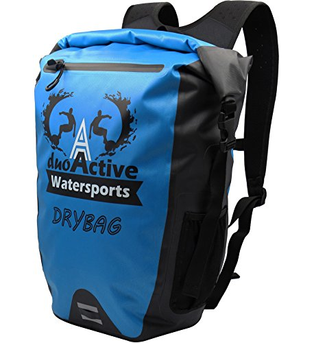 DuoActive Tsunami 25 Liter Dry Bag Backpack, Allows You To Conquer Anything, While Enjoying Total Piece Of Mind, Perfect for Kayaking, Hiking, Camping, Boating, Cycling or Travelling by DuoActive