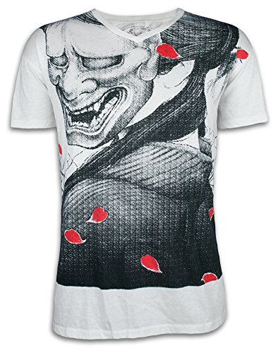 84c5f587169c Ako Roshi Men´s T-Shirt Shiroi Akuma - White Devil M L XL Martial Arts  Tattoo MMA - Buy Online in UAE. | Clothing Products in the UAE - See  Prices, ...