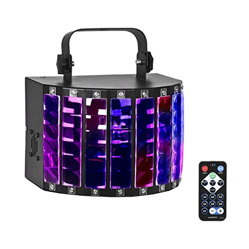 Eyourlife Stage Light 27W Remote Control Light 9 Colors Effect Lighting DMX Sound Activated (Dmx Lighting Effect)