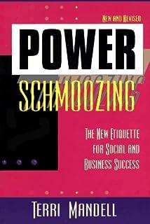 Definition of schmoozing