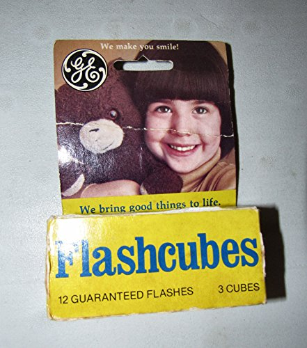 General Electric Flash Cubes Cameras