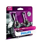 Philips  H11 VisionPlus Upgraded Headlight with up to 60% More Vision, 2 Pack