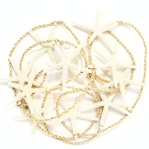 (Tumbler Home - Tropical Starfish Garland - 12 Starfish from 4.5