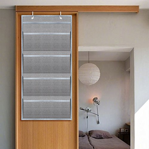 Hanging Wall Organizer,HENGSHENG Wall Mount/Over The Door Office Supplies  Storage Mail Organizer