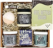 Get Well Soon Gifts For Women by Wax & Wit - Get Well Relaxing Gifts for Women - Feel Better Gift Set for