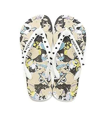 KRUZIN Multi Color Flip Flops Slipper For Women