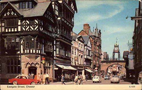 (Eastgate Street Chester, England Original Vintage)