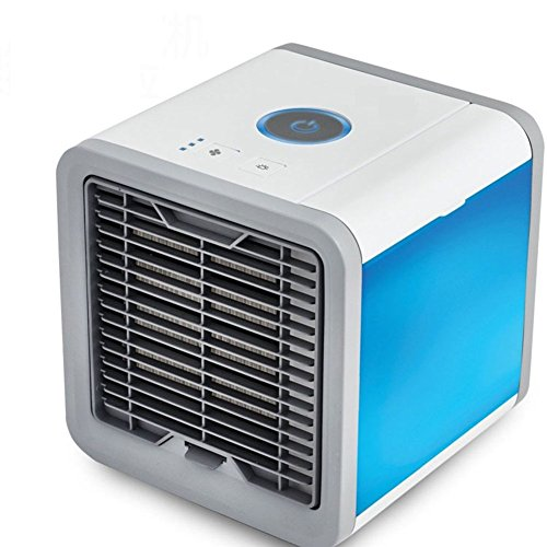 SL&LFJ Personal evaporative air cooler with cool,Humidify and purify functions apply to office,Home living room,Kitchen and bedroom air conditioner fan-A by SL&LFJ