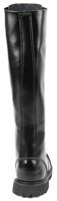 Knightsbridge – Gotische Stiefel Stiefel Stiefel (30 Loch) a4b8c1
