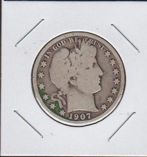 1907 O Barber or Liberty Head (1892-1915) Half Dollar Fine
