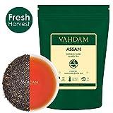 VAHDAM,Assam Black Tea Leaves (200 Cups), Black Tea Loose Leaf, FTGFOP1 Long Leaf,Rich & Malty, 100% Certified Pure Unblended Assam Tea Loose Leaf, Prime Season Harvest, Packed in India,16-ounce Bag