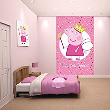 Poster Mural Princesse Peppa Pig 305 Cm X 244 Cm Amazonfr Cuisine
