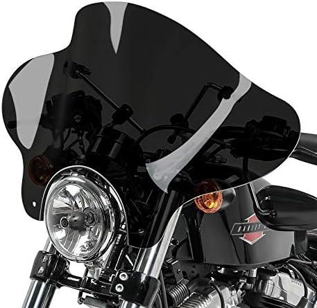 Windschild Batwing f/ür Suzuki Intruder VS 1400 dunkel get/önt