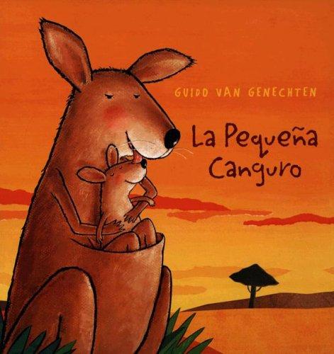 Pequena Canguro Spanish Guido Genechten product image