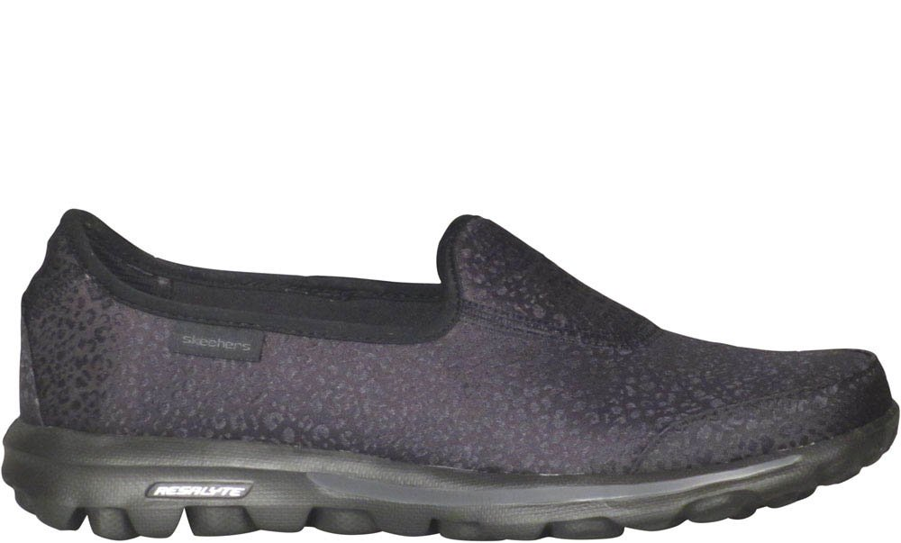 Skechers GOwalk Untamed Slip On  US 5|UK 2|EU 35|Black
