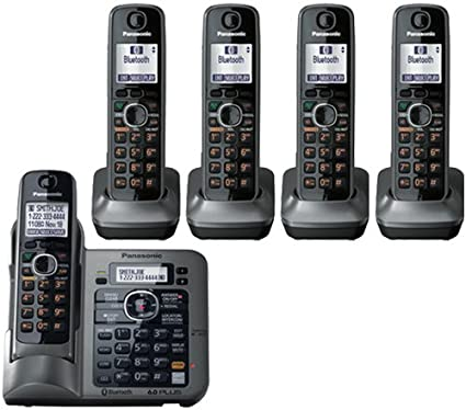 amazon com panasonic kx tg155sk dect 6 0 link to cell via rh amazon com