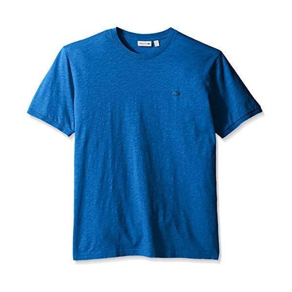 Lacoste-Mens-Short-Sleeve-Vintage-Washed-T-Shirt