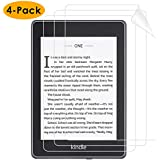 NANW Compatible Kindle Paperwhite Screen Protector 10th Generation, (4-Pack) Anti-glare HD Shield Anti-Fingerprint Bubble-free Protective Film Screen Cover for All-New Kindle Paperwhite E-Reader 2018