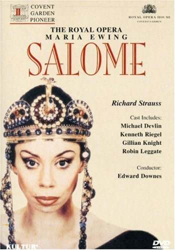 Price comparison product image Richard Strauss - Salome / Peter Hall · Edward Downes · Maria Ewing, · ROH Covent Garden