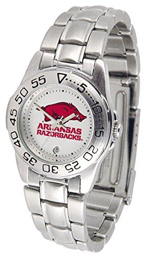 Arkansas Razorbacks Ladies Sport Watch - Linkswalker Ladies Arkansas Razorbacks Ladies' Sport Steel Watch