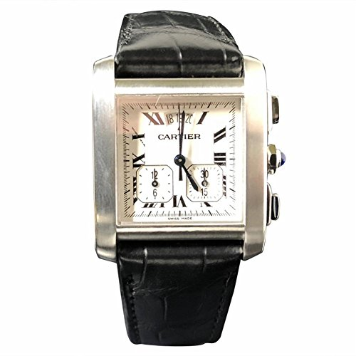 Cartier Tank Francaise analog-quartz womens Watch W51024Q3 (Certified Pre-owned)