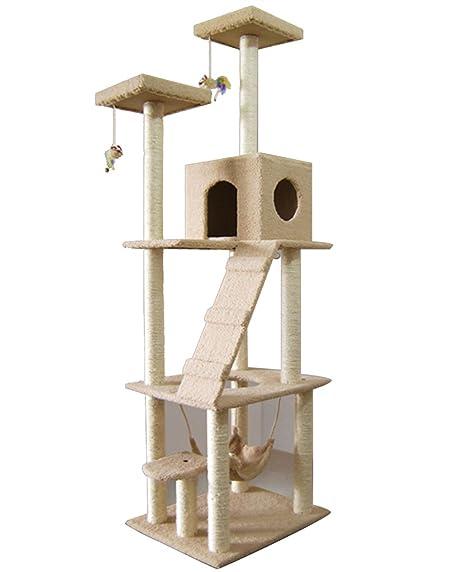 Shepher gato jugar diversión Castillo Kitty dormir cama árbol de Cat Paw arañazos, escalada Torre