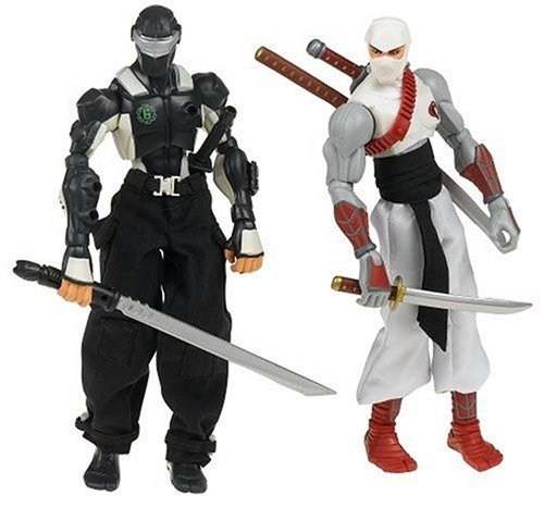 GI Joe Sigma 6 Ninja Showdown Value Pack with Snake Eyes and Storm Shadow ()