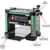 """Grizzly Industrial G0889 - 13"""" 2 HP Benchtop Planer"""