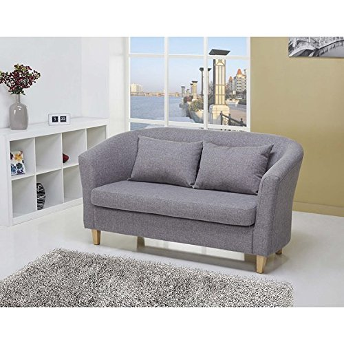 Laguna Ash Loveseat, detachable cushions by Laguna
