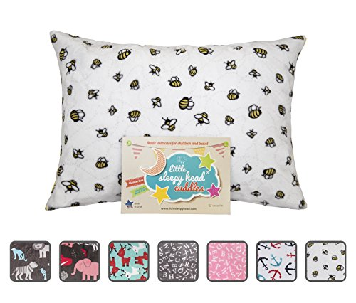 oddler Pillowcase - Cuddle Collection (busy Bees), White/Yellow, 13