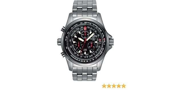 12dd009c513 Amazon.com  Torgoen Swiss Men s T01202 Chronograph Pilot Computer Watch   Watches