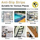 S&X Non Slip Bath Stickers,Gritty Textured