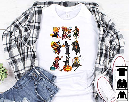 One piece cartoon characters halloween's day T-Shirt Long