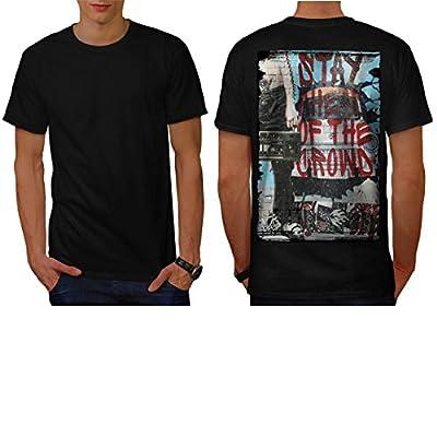 Urban Street Art Graffiti Fun Men NEW S-5XL T-shirt Back | Wellcoda