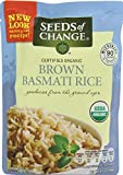 Seeds of Change Microwavable Rice, Whole Grain Brown Basmati Rice, 6 Count