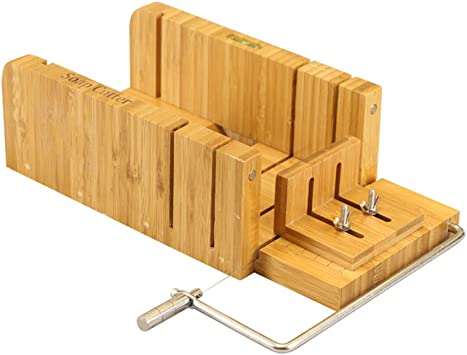 Baoblaze Multifunktions Holz Seifenschneider Wood Soap Cutter DIY Handgemacht Seife Schneider