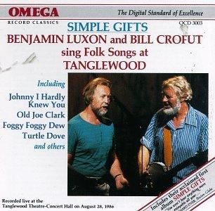 - Benjamin Luxon and Bill Crofut Sing Folk Songs at Tanglewood / Simple Gifts