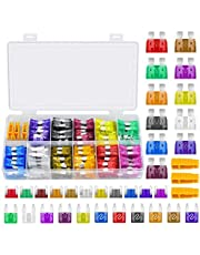 PACETAP Car Fuses Assortment Kit,330 PCS Car Blade Fuses Set with Fuses Puller - Standard & Small & Mini Size(2A/3A/5A/7.5A/10A/15A/20A/25A/30A/35A/40A) Car Boat Truck SUV Automotive Replacement Fuses