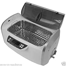 ANGEL POS cd4860 300W 6 Liter 1.58 Gallon Ultrasonic Cleaner with Heater and Timer and Stainless Steel Basket