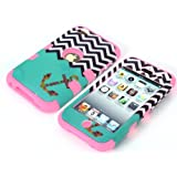 Candywe#02 Touch 4, Touch 4 Pink case,iPod Touch 4 case,Case For iPod Touch 4,Touch 4 Hybrid Case,Touch 4 Case Cover,Touch 4 Back Case,Cute Picture Print Design 3in1 Hybrid Hard Case Cover For iPod Touch 4 (4th Generation) For Girls For Boys