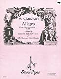 img - for Allegro, from Divertimento no. 1, K. 229: for alto, tenor, and bass recorders book / textbook / text book