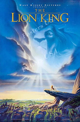 Posters USA Disney Classics The Lion King Poster - DISN087 )