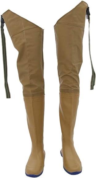 FLAMEER Stivali Pantaloni Da Pesca Trampolieri Calzatura