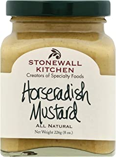 product image for Stonewall Kitchen Horseradish Mustard, 8 Ounces
