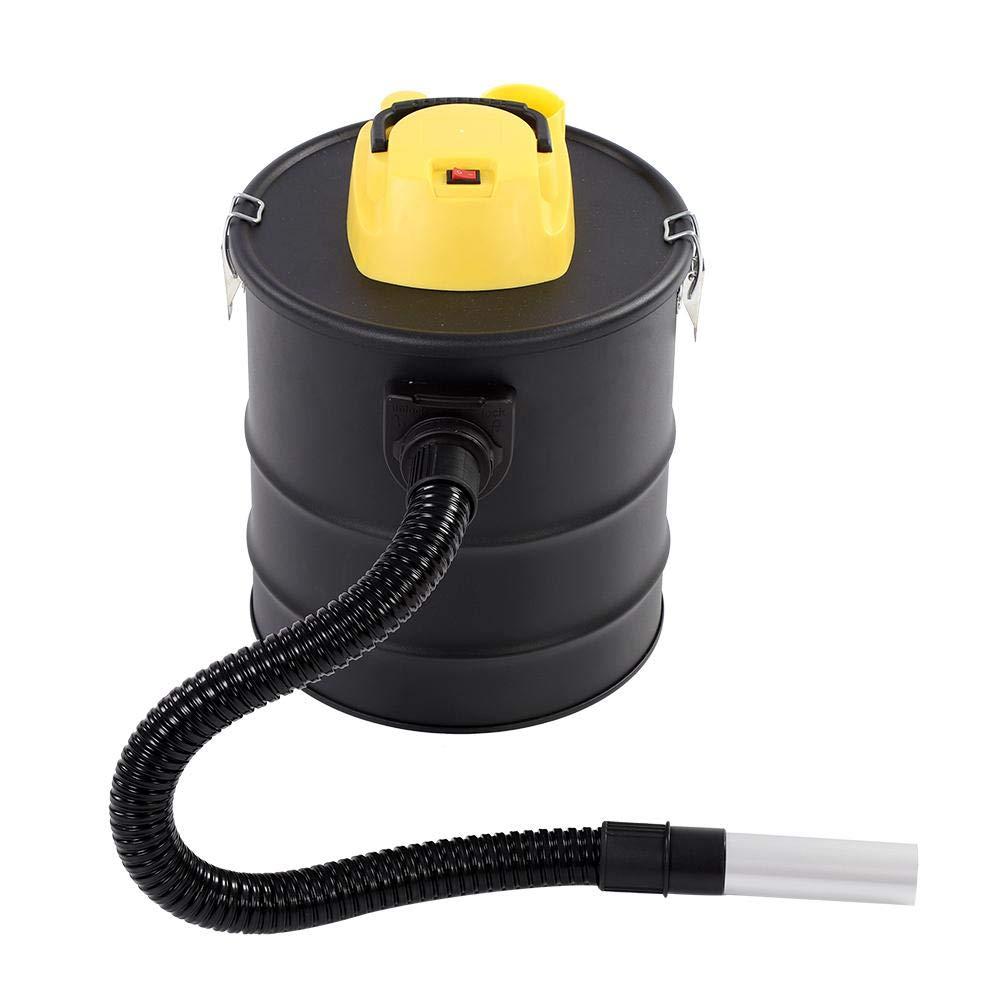 20 L aspirador de carb/ón cil/índrico para la limpieza de chimeneas. Aspirador de cenizas aspirador de cenizas vac/ío 1000 W