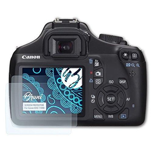 Rebel T3 Pellicola Proteggi 2X cristallino Proteggi Schermo Bruni Pellicola Protettiva per Canon EOS 1100D
